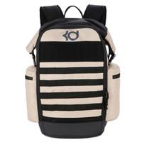 Wholesale laptop backbag for sale - 2017 KD TREY Max Air Men Backpack School Bag Teenagers Boys Laptop Bag Backbag Man Schoolbag Rucksack Mochila USA Elite Kevin Durant KD