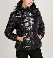 ingrosso giacche con cappuccio donna-Hot fashion brand donna DOWN JACKET SHORT COAT MAYA OUTWEAR Piumino donna inverno cappotti giacca Cinque colori Cappotto con cappuccio