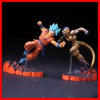 Wholesale Dragon Ball Z Action Figure Resurrection F Golden Frieza freeza freezer VS Goku Model Toy PVC Collective Doll free EMS