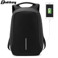 backpack notebooks Canada - Boshikang Korea Style Men Backpack Oxford Fashion Casual Brand Backpack for Male Laptop Notebook 15.6inch School