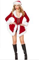 ingrosso bella cosplay-Nuovo arrivo costumi di Natale gioco cosplay uniforme manica lunga bar costume di prestazioni del partito sexy bella speciale