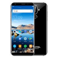 dual sim quad core 5.7 großhandel-5,7 Zoll Vollbild 18: 9 HD OUKITEL K5 4G LTE 0.1S Rückseite Touch-ID 64-Bit-Viererkabelkern MTK6737 2GB 16GB Android 7.0 4000mAh Akku Smartphone