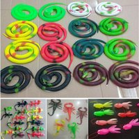 Wholesale funny jokes halloween - Rubber Fake Toys Snakes Spider House Lizard Coldfish Goldfish Funny April Fool Joke Funny Gags Trick Toys Novelty Halloween Gift HH7-1328