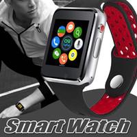téléphones mobiles montre-bracelet achat en gros de-M3 montre intelligente montre-bracelet intelligente avec écran tactile LCD de 1,54 pouces pour Android montre intelligente téléphone mobile intelligent SIM avec le paquet de vente au détail