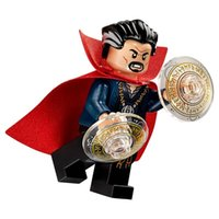 Wholesale kids learning toys - WholeSale 20pcs Movie Doctor Strange Tales with Cape Super Heroes xh363 Avengers Minifig Assemble Building Blocks Kids Learning Toys