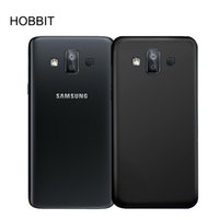 Wholesale galaxy duos cases - For Samsung Galaxy J7 Prime 2 J7 Prime 2018 G611  J7 DUO Matte Black Case Soft TPU Silicone Back Case Shockproof Back Cover Case