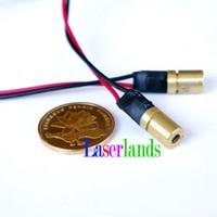 Wholesale infrared laser dot - 6.5*10mm 780nm 3mW 5mW Infrared IR Dot Focusable Laser Lazer Diode Module 3VDC