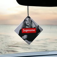 Wholesale Car Hanging Perfumed Fragrance Papers Car Air Freshener Vehicle Standard Scented Paper Perfumed Lasting Fragrance Random Scent Vanilla New