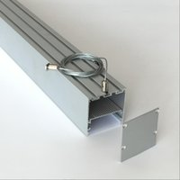 Wholesale recessed lights resale online - High quality suspended surface mount recessed anodized led aluminum profile led channel for led strip linear light