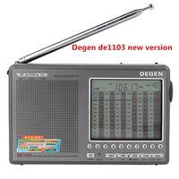 ingrosso ricevitore portatile ssb-Hot New Degen DE1103 DSP Radio FM SW MW LW SSB world band Ricevitore Digitale Antenna Esterna portatile de-1103 Radio spedizione gratuita