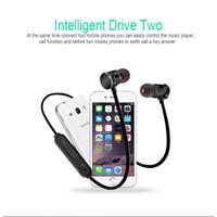 магнитный сотовый телефон оптовых-X3 магнитный Bluetooth Наушники Наушники водонепроницаемый Sweatproof Спорт стерео беспроводная гарнитура для Iphone X 6 7 8Plus S8 универсальный сотовый телефон