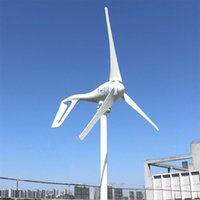 Wholesale generators home use - new 400w wind generator 12v 24v 48v wind turbine with 3 blades or 5 blades for streetlight garden lighting or home use