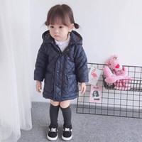 Wholesale baby boy clothes free shipping - Newest baby Girls boys down jacket coat winter autumn warm children 90% duck down jacket clothes free shipping top 2-11 years