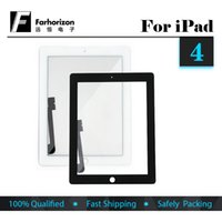 Wholesale Replacement For iPad Touch Screen Glass Display Digitizer Replacement Fix Cracked Front Glass Panel