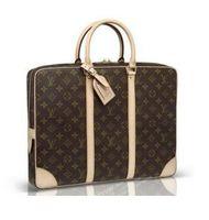 Wholesale dress packaging - 2018 new men's briefcase luxury business package hot sale laptop bag leather messenger package clutch handbag