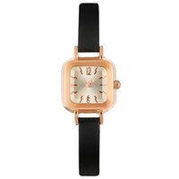Wholesale Lady Small Watch - Ladies small square fashion trend quartz watch student fashion hand.