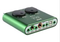 cartes dynamiques achat en gros de-XOX KX-2 version de la légendaire carte son USB externe K support de la voix Microphones condensateur à condensateur dynamique pour PC portable LLFA
