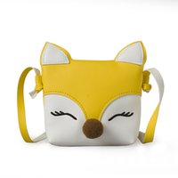 Wholesale accessories for girls stores - Jessie Store Lovely Children One Shoulder Bag Coin Purse Cute Fox Girls Messenger bag baby Accessories An Ideal Gift for Children