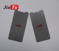 iphone polarisieren film großhandel-Original lcd polarisator film polarisationslicht film für iphone x polarisationsfolie ersatzteil mit antistatischen 200 teile / los
