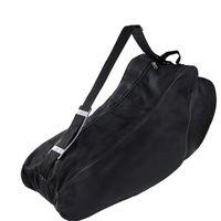 schwarzer rucksack groihandel-Schwarze Dreiecks-Form-einzelne Schulter-Beutel-Flaschenzug-Rollschuhlaufen große Zahl-gerade Reihen-Umhängetaschen für Erwachsenen und Kinderrucksack 15 qd jj