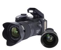 ücretsiz profesyonel video kameralar toptan satış-Yeni PROTAX POLO D7100 dijital kamera 33MP TAM HD1080P 24X optik zoom Otomatik Odaklama Profesyonel Kamera Ücretsiz DHL