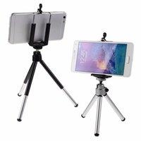 mobil için üniversal tripod ayaklığı toptan satış-Evrensel Mini 360 Tam Metal Dönen Uzatılabilir Mini Tripod Kamera iPhone 8 X Samsung S8 Cep Cep Telefonu Için Tutucu Stand