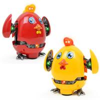 çocuklar için elektrikli oyuncaklar karikatür toptan satış-Karikatür bozulma mücadele tavuk, çocuk oyuncak, hafif müzik, evrensel tavuk, elektrik deformasyon tavuk çocuklar iyi hediye
