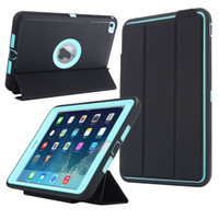Discount tablet 4.4 kid - For iPad Mini 4 Smart Cover Retina Kids Safe Armor Shockproof Heavy Duty PC+Silicone Tablet Cases Cover w Screen Protector Film