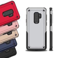 Wholesale Oppo Cases - Hybrid Armor Phone Case for iPhone X 8 7 6 Plus Back Case Shockproof Cover Heavy Duty for Samsung Galaxy S9 OPPO VIVO