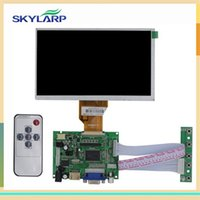 Wholesale Pi Touch Screen - Wholesale- skylarpu 7 inch for Raspberry Pi With HDMI VGA AV LCD Screen Display Monitor For Pcduino Banana Pi (without touch)