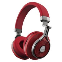 Wholesale Bluedio T3 rd Wireless Bluetooth Stereo Headset Red
