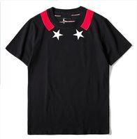 ingrosso maglietta di lusso di mens-GY Summer Maglietta per uomo Top con lettere di marca Designer Camicie Luxury maglietta manica corta Marchio Mens Abbigliamento Tee S-XL