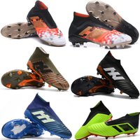 Wholesale New Hot Predator Telstar FG Soccer Cleats Accelerator DB Football Boots Mens High Top Soccer Shoes Football Shoes