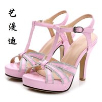 Wholesale Small Shoes Size 31 32 - 2017 Small Size 31-43 Fashion Sexy Women Sandals High Heels Ladies Pumps Shoes Woman Summer Style Chaussure Femme Talon 32 33