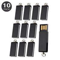 mini memoria usb al por mayor-Envío gratis a granel 10 UNIDS 64 MB Mini unidades giratorias USB 2.0 giratorias Unidades giratorias de lápiz Almacenamiento de pulgar para PC Macbook USB Memory Stick colorido