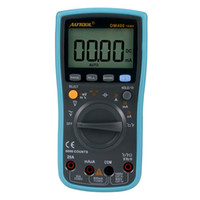 Wholesale voltage multimeter - AUTOOL DM400 Digital Multimeter 6000 Counts Large LCD Screen Display Multimeter Low Voltage Display AC DC Temperature Measurement Tool