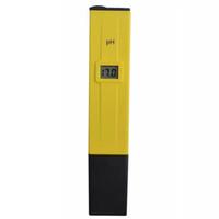 akvaryum ph test kalemi toptan satış-Perakende Cep PH Kalem Test Su PH Metre Dijital Tester PH-009 IA 0.0-14.0pH Akvaryum Havuz Suyu Laboratuvar Sıcaklık Telafisi için