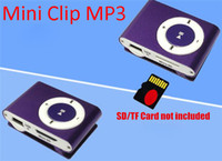 Wholesale mini clip mp3 player retail for sale - Group buy Mini Metal Clip MP3 Player Colorful Sports Music Player with Micro SD TF Card Slot No Memory Card without Earphone USB Cable Retail Box