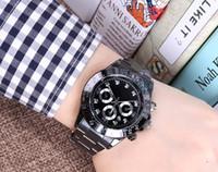 ingrosso donne orologi in oro nero-2018new top brand luxury orologio da uomo calendario black bay designer diamante orologi all'ingrosso donne di alta qualità vestito oro rosa orologio reloj muje