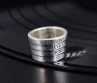 echte verlobungsringe china großhandel-S925 reines Silber Engagement Trendy Frauen Ring für New Real Fashion Frauen Hochzeit Schmuck Ringe Markenname Schmuck PS55515