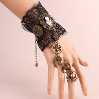Wholesale pirate party ring resale online - designer jewelry bracelets for women classic bracelets pirate lace ring hot fashion free of shipping