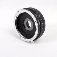 apertura de la lente al por mayor-Construir en Aperture Objetivo Anillo adaptador para EOS EF Lens para NEX E Mount Adapter NEX-7 NEX-5 -3