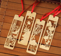 marcador gratis chino al por mayor-Kawaii lindo marcadores de metal hermoso marcador retro vintage chino para el libro del artículo creativo paquete de regalo envío gratis
