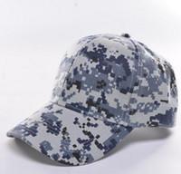 32cd61e68abef gorras militares ajustables al por mayor-Gorra de béisbol ajustable del  casquillo de DHL Camo