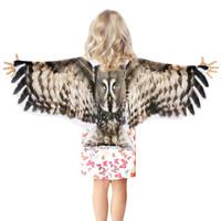 flügel für kostüme großhandel-SPEZIELLE 120 * 70 cm Flügel Maske Sommer Sonnencreme Kostüm Junge Reise Zubehör Geschenke Halloween Party Kostüme Tier Spielzeug