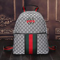 Wholesale extra packs online - quality Luxury brand women backpack men bag Famous backpack designers men back pack women travel bag backpacks