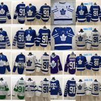 Wholesale wrinkle patches - The Captain C Patch 91 John Tavares Toronto Maple Leafs Jersey & Edmonton Oilers 97 Connor McDavid Captain C Patch Hockey Jerseys Cheap