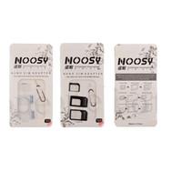 kostenlose iphone 5c sim karte großhandel-NOOSY Nano Sim Karte Adapter Konverter Nano Sim Adapter Micro sim Karte Für Iphone 7 8 X XS XR MAX Alle Mobile De