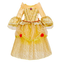 Wholesale american fashion dresses for sale - 2018 Fashion Europe and American Style Kids Dresses For Hallowmas Child Baby Sweet Princess Dresses Gauze Dresses Baby Girl Clothes