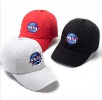 casquettes de rue hip hop achat en gros de-Mode réglable NASA chapeau les chapeaux Weeknd Snapback pour hommes femmes marque hip hop papa casquettes soleil rue skateboard casquette casquette